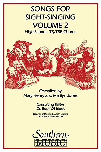 Songs For Sight Singing-Hs-Tbb Vol 2 (Sss Hs - TB - PART)