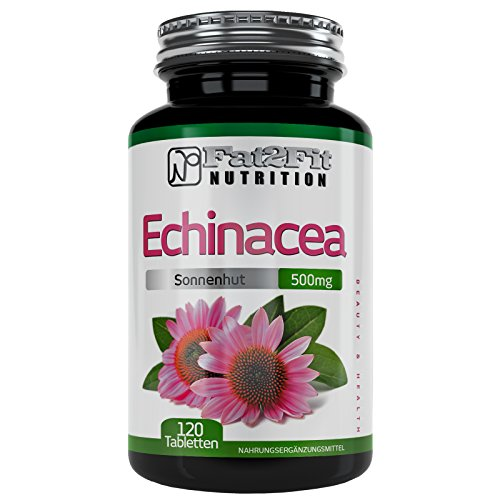 Echinacea 500mg - 120 Tabletten - Die preiswerte Alternative -