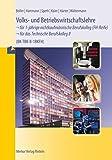 Volks- und Betriebswirtschaftslehre für das Technische Berufskolleg II | 1BKFH