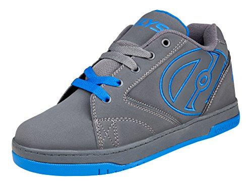 Heelys Unisex-Kinder Propel 2.0 (770508) Sport & Outdoorschuhe, Grau (Grey / Royal), 36.5 EU
