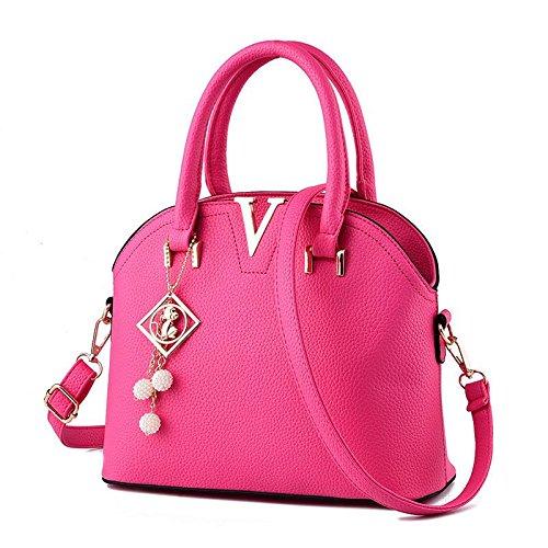 gli-stereotipi-coreano-ol-pendolari-donne-croce-corpo-tracolla-messenger-handbag-rose-red