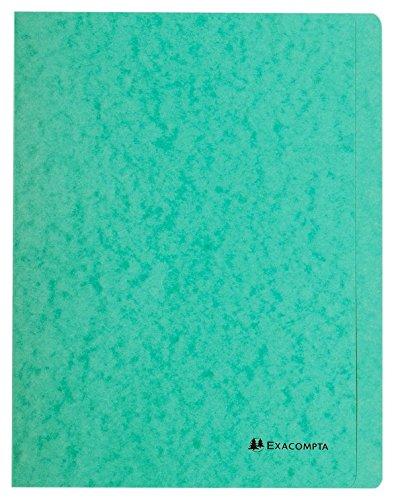 40 x Exacompta Schnellhefter Nature Future A4 Karton grün
