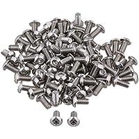 10 Stk Linsenkopfschrauben mit Innensechskant nach ISO 7380 A4 - AISI 316, M 6x20