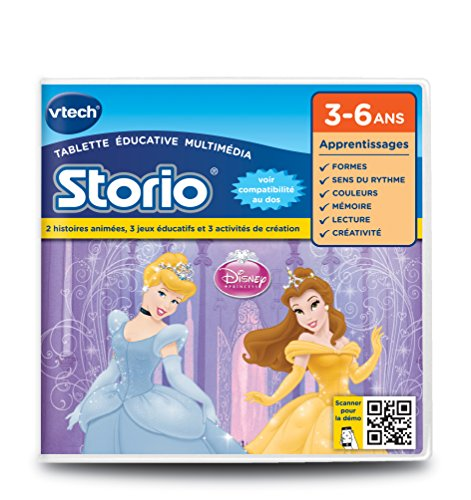 Vtech - 230205 - Storio 2 et générations suivantes - Jeu éducatif - Princesses Disney