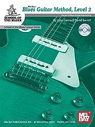 Barrett David/Garcia John Blues Guitar Method Level 2 Guitar Book/CD (School of the Blues Lesson)