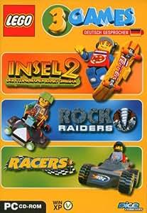 Lego 3 Games Pack (Insel 2 / Rock Raiders / Racers)