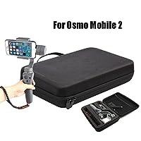 Anbee Estuche de almacenamiento rígido bolsa de hombro Caja de almacenamiento para cámara de cardán manual DJI Osmo Mobile 2