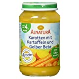 Alnatura Demeter Bio Karotte-Kartoffel-Gelbe Bete, glutenfrei, 6er Pack (6 x 190 g)
