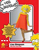 Rubie' s ufficiale adulto, Deluxe Lisa Simpson costume–large