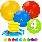 55cm bis 85cm Gymnastikball Büroball Fitnessball Robuster Sitzball Pilatesball
