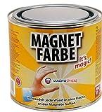 Pintura magnética 0,5 litros - imantada, acabe con pintura de cualquier color o diseño