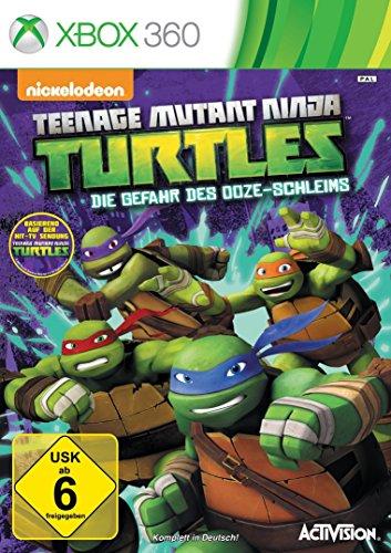 Turtles - Die Gefahr des Ooze-Schleims - [Xbox 360] (Teenage Mutant Ninja Turtles Spiele)