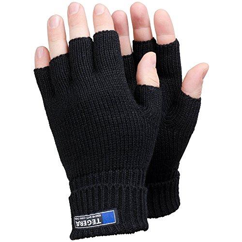 Ejendals Textilhandschuh Tegera 790, Größe 7, 1 Stück, schwarz, 790-7
