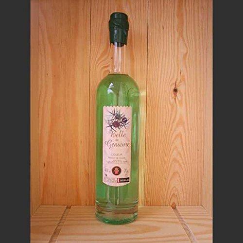 liqueur belle de genievre 70 cl presente en coffret 3 verres louis roque neuf