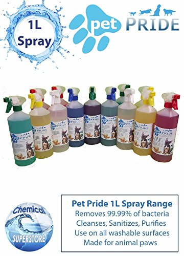 Collection Here 5l Fresco Mascota Jaula Desinfectante Botella Aerosol Fresh Linen Shrink-Proof