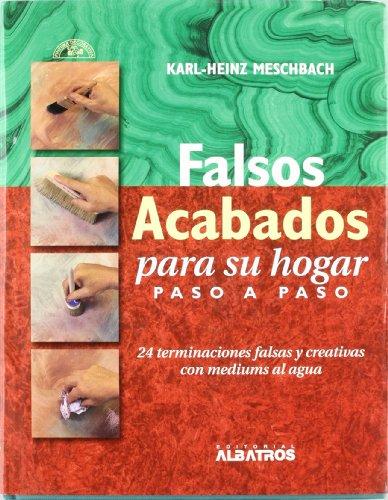 FALSOS ACABADOS PARA SU HOGAR PASO A PASO