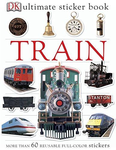 Train Ultimate Sticker Book (Ultimate Stickers)