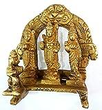 Divya Shakti Ram Darbar Statue - Lord Rama Laxman and Sita Religious Indian Art Statue - 3' x 3' x 1.5' ( Religious gift item )