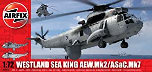 Airfix A04048 Westland Sea King HAS.5/AEW.2 1:72 Scale Series 4 Plastic Model Kit