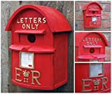 Garden Mile traditionnel classique Britanniques Boîte aux lettres Jardin Nichoir à oiseaux Traitement extrêmement Predator sûr détaillée Boîtes Box Décoration de jardin