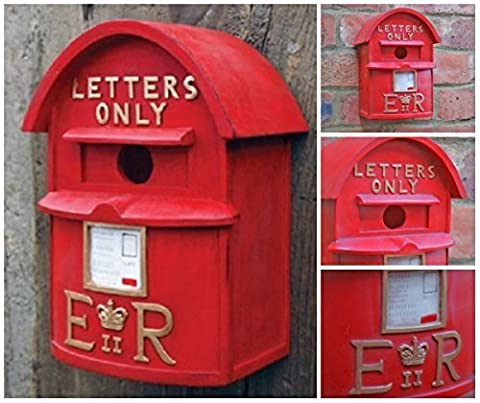 Garden Mile Traditionell Klassisch Briten Briefkasten Garten Vogelhaus Hochgradig Detaillierte