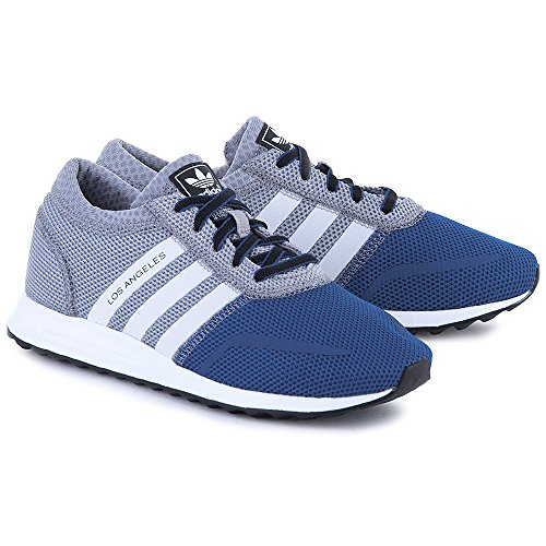 Adidas Zapatillas Los Angeles K Gris/Azul EU 39 1/3 (UK 6)