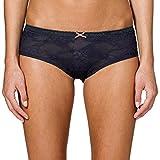 Uncover by Schiesser Damen Slip Bikini Hipster, Grau (Graphit 207), 42 (Herstellergröße: XL)