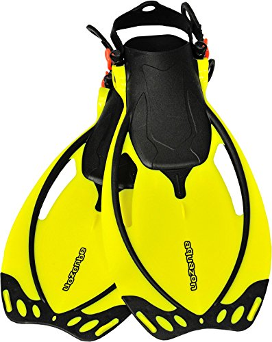 AQUAZON, pinne regolabili, da snorkeling e...