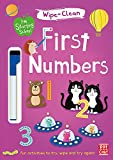 First Numbers: Wipe-clean book with pen (I'm Starting School)