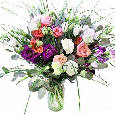 Lisianthus Blumenstrauß Geburtstag