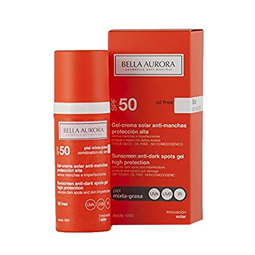 Bella Aurora Gel Solar SPF 50 Antimanchas Piel Mixta-Grasa - 50 ml