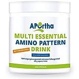 APOrtha Multi essential Amino Pattern Drink | 8 essentielle Aminosäuren | 400g Pulver (Bitterorange)