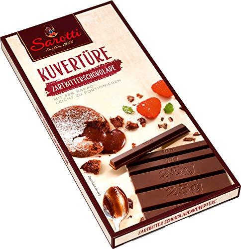 Sarotti - Kuvertüre Zartbitterschokolade - 200g