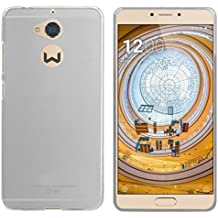FUNDA de GEL TPU para WEIMEI WE PLUS 2 COLOR TRANSPARENTE