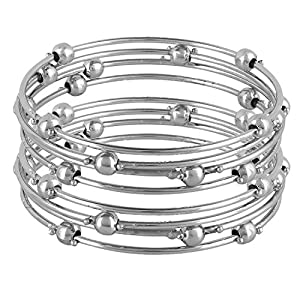 Cardinal Silver Color Fashion Jewellerry Traditional Latest Design Bangles/Bracelet for Women/Girl