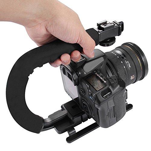 Dslr-blitze (Kingko® Berufs-U / C-Handstabilisator Hand-U / C-förmiger Gradienter Handstabilisator Steadycam Berufs Video Stabilisatoren für DSLR)
