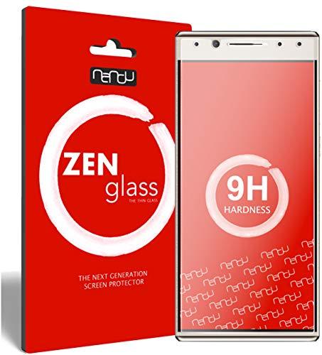 ZenGlass Flexible Glas-Folie für Alcatel 5 Panzerfolie I Bildschirm-Schutzfolie 9H I (Kleiner Als Das Gewölbte Bildschirm)