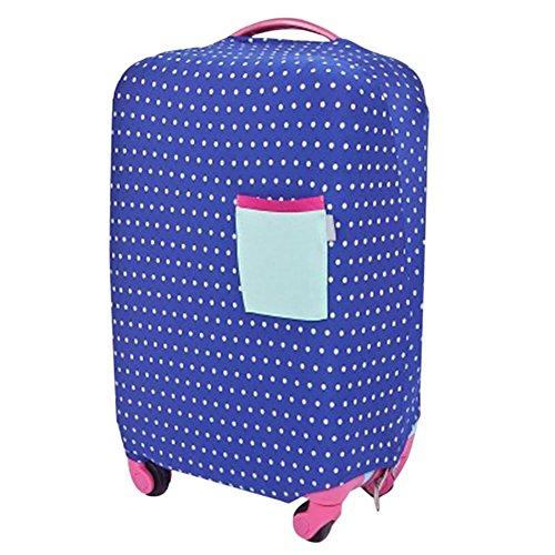 Xinvision Trolley Waschbar Elastisches Tuch Staubdicht Gepäck Beschützer Reise Koffer Anti-Scratch Dehnbar Hülsen-Abdeckung (Koffer nicht - Koffer Abdeckung Dehnbare