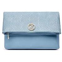 Zeneve London Daisy Crossbody Bag For Women - Blue