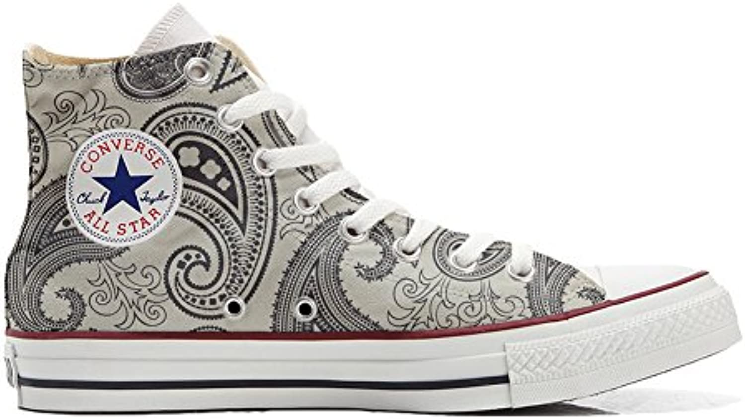 Converse All Star Zapatos Personalizados Unisex (Producto Handmade) Slim Butterfly -
