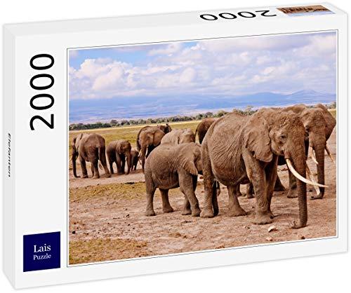 Lais Puzzle Elefantes 2000 Piezas