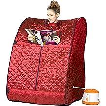 Fossilbeater Steam Sauna portable sauna room Beneficial skin infrared Weight loss Calories bath SPA
