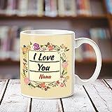 Huppme I Love you Nana romantic coffee mug