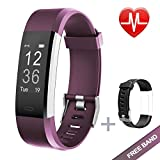 Fitness Tracker, Lintelek Large OLED Touch Screen Activity Tracker for Android & IOS