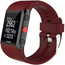 Correa de Relojes Casual, YpingLonk Silicona Adecuado para Polar V800 Watch Ajustable Caucho Cómoda y
