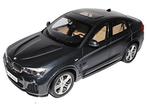 Preisvergleich Produktbild BMW X4 SUV Sophisto Grau F26 Ab 2014 1/18 Paragon Modell Auto