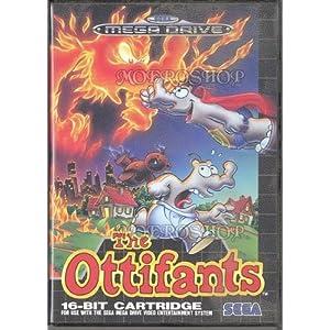 The Ottifants – Megadrive – PAL