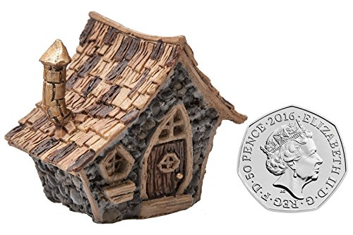 Von Hand Bemalt, Sind Mit Schreibtischen (Fiddlehead Gartendekoration Mini Cottage / Feenhaus)