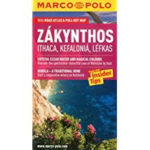 Marco Polo Zakynthos Ithaca, Kefalonia, Lefkas: Greece, With Road Atlas & Pull Out Map