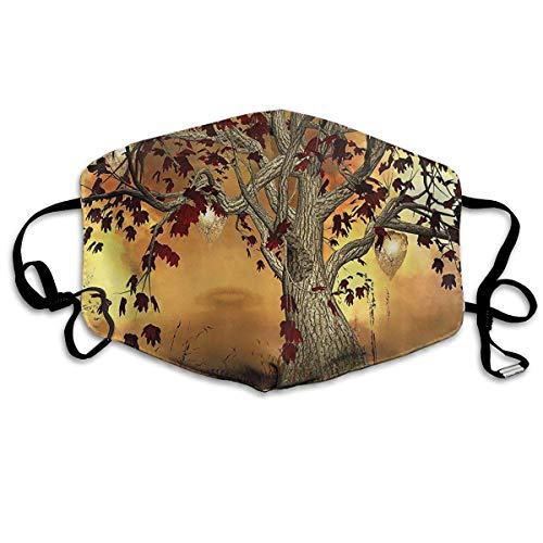 Old Twisted Tree Anti Pollution Respirator Dust Mask Cotton Reusable Face Mouth Mask Fashion for Men Women